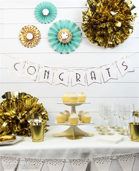 Engagement Party Decoration Ideas Diy